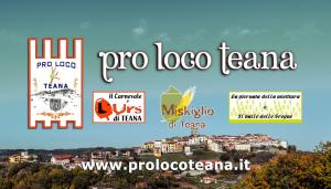 La Pro Loco Teana iscritta nell'Albo Nazionale APS