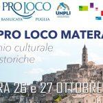 Expo Pro Loco 2019 – Matera 26/27 Ottobre 2019