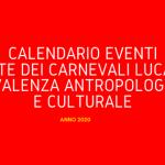 Calendario Eventi Rete dei Carnevali Lucani