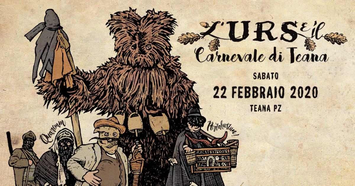 evento l'urs e il carnevale di Teana