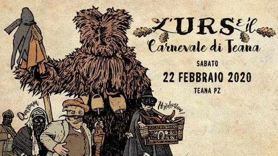L'Urs e il Carnevale di Teana 2020 – Programma