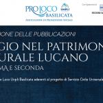 """Presentazione delle pubblicazioni del Servizio Civile 2020-2021 """"Viaggio nel Patrimonio culturale lucano"""""""